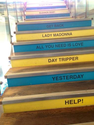 Stairway to heaven- Beatles museum