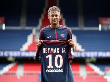 Paris Saint-Germain F.C. - Neymar Jr Press Conference
